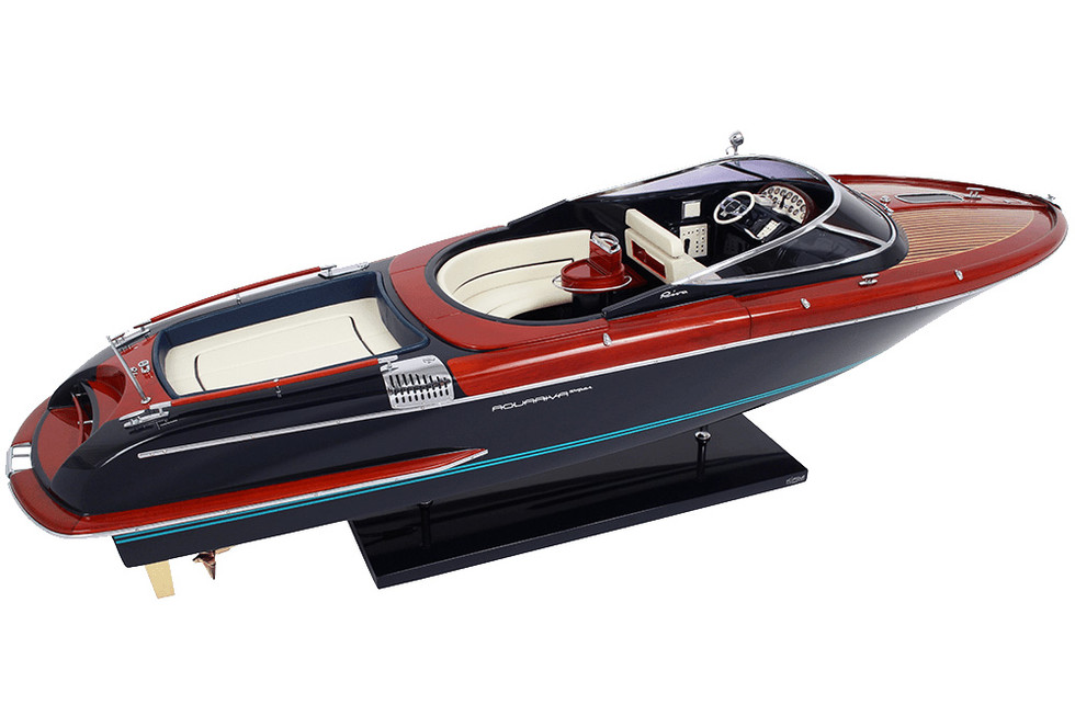 MOTOSCAFO RIVA AQUARIVA ORIGINALE KIADE 84 CM (NEW VERSION)