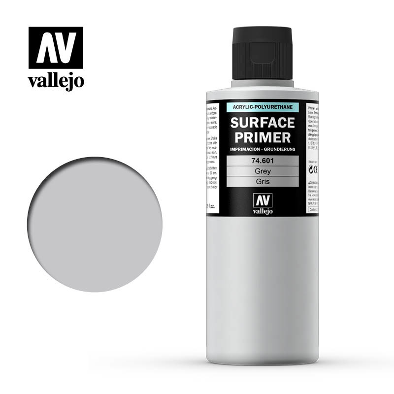 SURFACE PRIMER GREY 200 ML